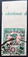 Timbre Local Patriotique De Canarias N° 8 - Nationalistische Ausgaben