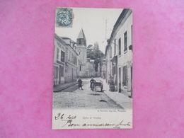 78 EGLISE DE VIROFLAY ANIMÉE CHARRETTE - Viroflay