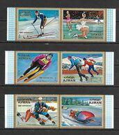 Ajman 1970 Winter Olympic Games, SAPPORO MNH - Inverno1972: Sapporo