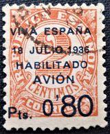 Timbre Local Patriotique De Canarias N° 2 - Nationalistische Ausgaben