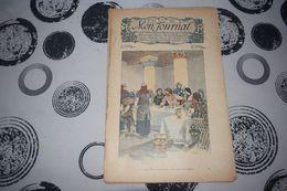 Mon Journal Hachette & Co. 20 Décembre 1913 N°12 Recueil Hebdo Illustré Un Jeune Garçon Vêtu Misérablement - Libri, Riviste, Fumetti
