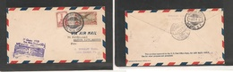 123gone. Mexico Cover - 1928 Special First Flight Inaugural Saltillo To DF For Lock Haven Mult Fkd Env, Fine - Mexiko