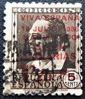Timbre Local Patriotique De Canarias N° 6 - Nationalistische Ausgaben
