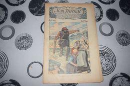 Mon Journal Hachette & Co. 27 Décembre 1913 N°13 Recueil Hebdo Illustré Le Géant Répandait La Terreur - Libri, Riviste, Fumetti
