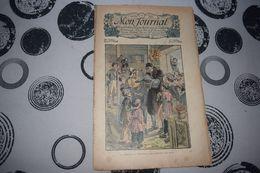 Mon Journal Hachette & Co. 3 Janvier 1914 N°14 Recueil Hebdo Illustré M. Calande Ne Parvenait Pas à Retirer Les Oeufs - Libri, Riviste, Fumetti