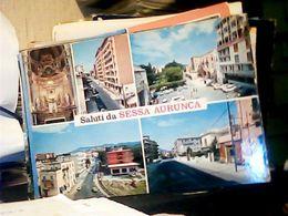 SALUTI DA SESSA AURUNCA - CASERTA - 5 VEDUTE VARIE DEL PAESE VB1977 HQ10139 - Caserta