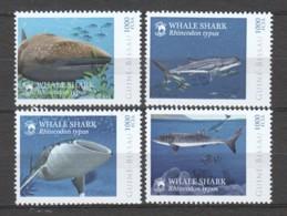 Guine Bissau - MNH Set WHALE SHARK - Pesci