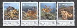 Palau - MNH Set COMMON OCTOPUS - Vita Acquatica