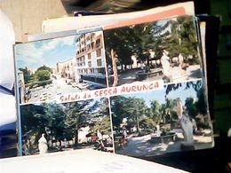 SALUTI DA SESSA AURUNCA - CASERTA - 4 VEDUTE VARIE DEL PAESE VB1977 HQ10140 - Caserta