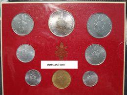 CITTA' DEL VATICANO YEAR 1975  - FDC - CARTONCINO ROSSO ANNO XV - Vatican