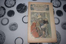 Mon Journal Hachette & Co. 7 Mars 1914 N°23 Recueil Hebdo Illustré Garin S'est Laissé Tomber Sur Le Trône De Charles - Libri, Riviste, Fumetti