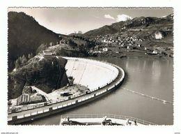 SOTTOCASTELLO  DI  CADORE (BL):  DIGA  E  PANORAMA  -  FOTO  -  FG - Châteaux D'eau & éoliennes