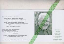 Gabriël De Bosschere, Tiegem 1934, Anzegem 2009 - Overlijden