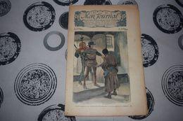 Mon Journal Hachette & Co. 14 Mars 1914 N°24 Recueil Hebdo Illustré Nous Sommes à La Poursuite D'un Traître - Libri, Riviste, Fumetti