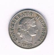 5 RAPPEN 1885 ZWITSERLAND /6328/ - Suiza