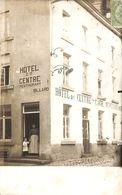 Ciney - Hôtel Du Centre (café Restaurant Animée 1908 Rare) - Ciney