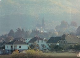 Cpm 10x15. PRESTIGE . ALSACE .679059-P59   Un Village Dans La Brume - Fotografia