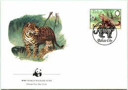 Enveloppe F.D.C. Du Belize 1983) (WWF) - Le Jaguar - (N° Yvert & Tellier 650) - Belize (1973-...)