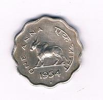 ONE ANNA 1954 INDIA/6333/ - India