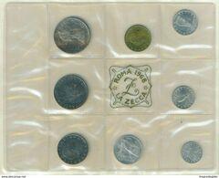 REPUBBLICA ITALIANA  ANNO 1968 - 8 VALORI FDC - IN AUMENTO - 1946-… : République