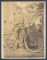 Velo Bicyclette Photo Originale 8 X 11 Cm - Non Classés