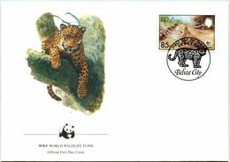 Enveloppe F.D.C. Du Belize 1983) (WWF) - Le Jaguar - (N° Yvert & Tellier 652) - Belize (1973-...)
