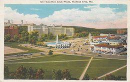 KANSAS CITY, Missouri, 1910s; Country Club Plaza - Kansas City – Missouri