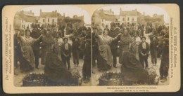 Ireland GALWAY Market Place  Photo Stereo 9 X 18 Cm - Stereoscopic