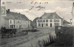 Anthée - La Place (animée, Café Roulotte 1912, Edit. Henry-Deroyer) - Onhaye