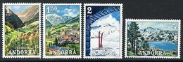 ANDORRA / ANDORRE (1972) - Paysages, Landscapes, Skiing, Lake, Valley, Lac, Ski, Esquí - Ungebraucht