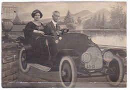 """AUTOMOBILE  """"ZUST"""" - SURREALISMO -  FOTOMONTAGGIO - FOTO CARTOLINA  - 1924 - Automobili"""