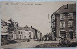 AK MUSSON Saint Léger Aubange Athus Grand Ru Sur Halanzy Canon Attelage Luxembourg Gaume - Musson