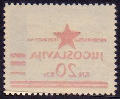 JUGOSLAVIA - NDH LOCO  ZAGREB - ERROR  OVPT  ZEMUN - **MNH - 1945 - Neufs