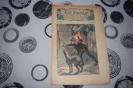 Mon Journal Hachette & Co. 26 Juillet 1914 N°43 Recueil Hebdo Illustré La Porte Défiait Tous Ses Efforts - Libri, Riviste, Fumetti