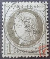 R1286/267 - CERES N°50 CàD De PARIS RUE TURBIGO Du 8 MAI 1874 - TRES BON CENTRAGE - 1871-1875 Cérès