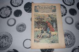 Mon Journal Hachette & Co. 2 Août 1914 N°44 Recueil Hebdo Illustré Tu Trouvera Des Cailloux Bons à Manger - Libri, Riviste, Fumetti