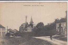 GOURDINNE / WALCOURT / RUE D EN HAUT ET L EGLISE - Walcourt