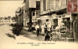 FRANCE - Carte Postale - Saint Valery / Somme -Café, Hôtel Et Restaurant Des Pilotes - L 66479 - Saint Valery Sur Somme