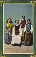 Tibetian Family. - Asien