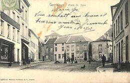 Gembloux - Place St JEan (animée Edit Wilhelm Hoffmann 1908...taches) - Gembloux