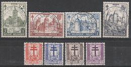 868/875 Antituberculeux /Antiteringszegels Oblit/gestp Centrale - Belgium
