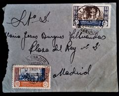 438 MAROC MARRUECOS MOROCCO MAROKKO 1948 VILLA SANJURJO TIJDIT - Spanisch-Marokko