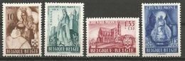Belgique - Basilique De Chevremont - N°777-780 */** - Ste Begge - Château - Basilique - Mont-Carmel - Belgium