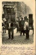 FRANCE - Carte Postale - Paris - Les Halles Centrales Le Matin - Porteurs De Cageots Et De Paniers - L 66485 - Petits Métiers à Paris