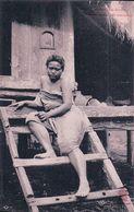 Indochine, Cambodge, Kampong Cham, Femme Devant Son Habitation (1683) - Kambodscha
