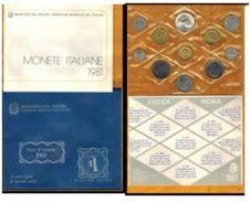 I. REPUBBLICA - ANNO 1981 - DIVISIONALE FIOR DI CONIO - FDC - - 1946-… : République