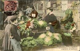 FRANCE  - Paris - Les Carreaux Des Halles - Marchands De Légumes Et Salades - L 66489 - Petits Métiers à Paris