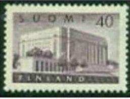 "-Finland-1956-""Parliament ""MH(*) - Finland"