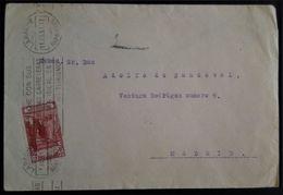 447 MAROC MARRUECOS MOROCCO MAROKKO 1931 LARACHE PARQUE ARTILLERÍA - Spanisch-Marokko