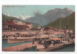 Zwitserland Schweiz Suisse - Interlaken - Station Am Thunersee - 1907 - Schweiz